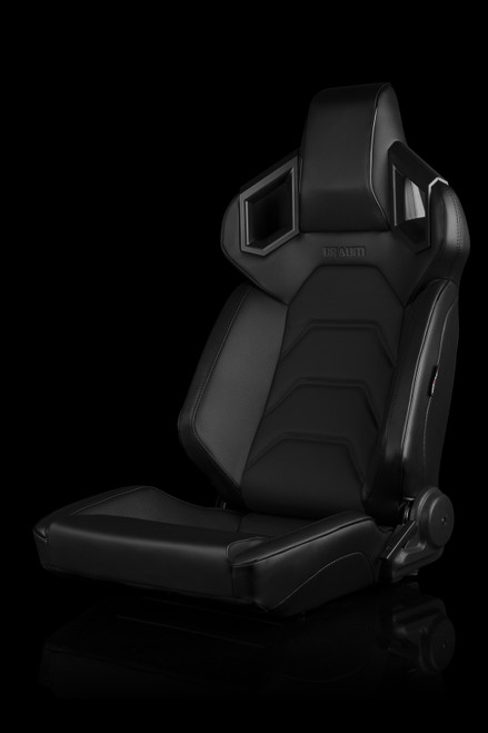 Braum Alpha-X Series Seats Black Low Base(Pair)