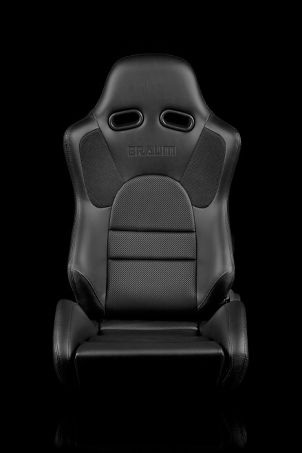 Braum ADVAN Series Black- Carbon Fiber Seats(Pair)
