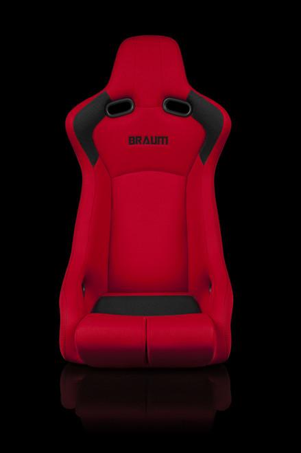 Braum Venom-R Series Red Bucket Seat(Single)