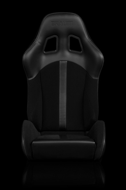 Braum Defender Series Black Seats (Pair)