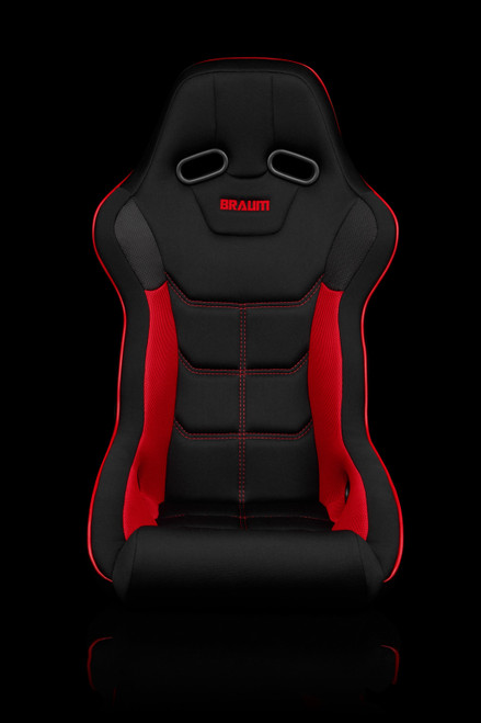 Braum Falcon-X Series Black and Red Bucket Seat(Single)