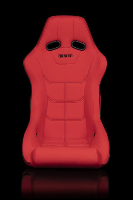 Braum Falcon-X Series Red Ultra Grip Bucket Seat(Single)
