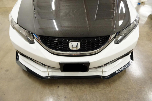 2012-2015 Honda Civic Si Sedan AeroFlow Dynamics Splitter V2