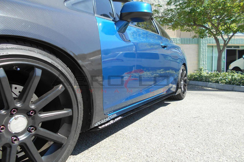 2012-2015 Honda Civic Si Coupe AeroFlow Dynamics Side Skirt Extension V2