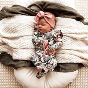 Snuggle Hunny Kids - Australiana Growsuit Organic Clothing