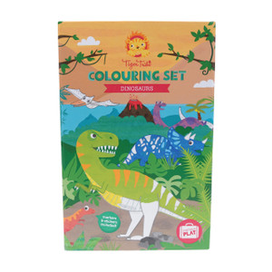 Tiger Tribe Dino Colouring