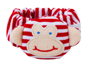 Alimrose monkey wrist rattle  Red