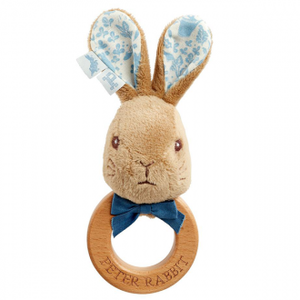 Beatrix Potter - WOODEN RING RATTLE: PETER RABBIT SIGNATURE COLLECTION