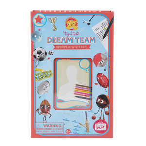 Tiger tribe Dream team activity set
