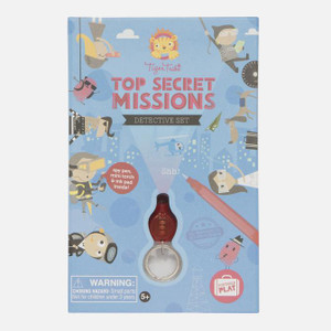 Tiger tribe top secret missions activity set