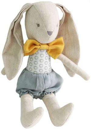 Alimrose - Baby Boy Bunny - Grey Butterscotch