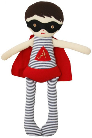 Alimrose - Super Hero Doll Rattle