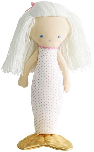 Alimrose - Mermaid Doll - Spot Pink