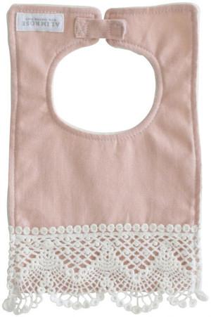 Alimrose - Erin Bib - Pink Linen
