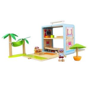 Tigertribe beach villa box play set - was $64.95