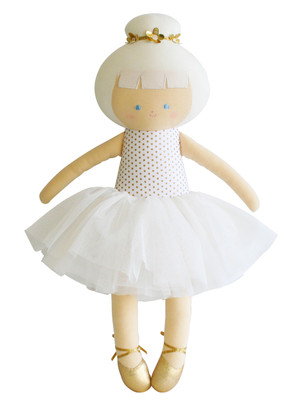 Alimrose Designs Gold Spot Big Ballerina Doll