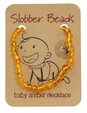 Toddler baltic amber necklace- honey
