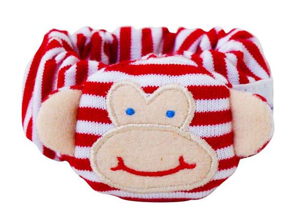 Alimrose monkey wrist rattle  Red