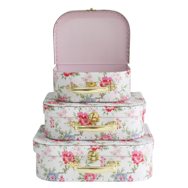 Alimrose 3 piece case set - floral