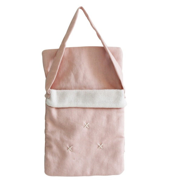 ALIMROSE - BABY DOLL CARRY BAG PINK LINEN