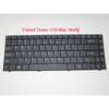 Laptop Keyboard For CLEVO W247BLQ W247BZQ W247ELQ W248BZQ W248CUQ W248ELQ W248EUQ W248HUX W249BLQ W249CZQ W249EUQ W249HUQ W24ABL W24ABZ W24AEL W24BCU W24BHUX W841T1 U.S.English International UI