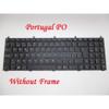 Laptop Keyboard For CLEVO M760CU M765CU M770CUH M775CUH M980NU P150HM P150HM1 P151EM1 P151SM1 P170HM P170HM3 P175EM1 P180HM T5100 Portugal PO