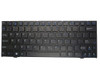 Laptop Keyboard For CLEVO MP-08J63U4-430 6-80-M1110-010-1 6-80-M1110-011-1 6-80-M1110-012-1 6-80-M1110-013-1 6-80-M1110-015-1 U.S.English International UI With Black Frame