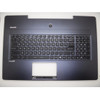 95% new Laptop Palm Rest&Keyboard For MSI GS72 dark-blue without touchpad V143422BK1 UI US English S1N-3EUS217-SA0