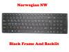 Laptop Keyboard For Gigabyte P57W V7 P57X V6 P57X V6-PC3D P57X V6-PC4D P57X V7 U35F Norwegian NW With Black Frame And Backlit