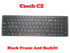 Laptop Keyboard For Gigabyte P57W V7 P57X V6 P57X V6-PC3D P57X V6-PC4D P57X V7 U35F Czech CZ With Black Frame And Backlit