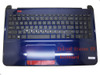 Laptop PalmRest&keyboard For HP 15-D000 750195-001 1A32FUQ00600G Blue C Shell With Black Keyboard United States US