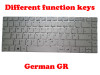 Laptop Keyboard For Teclast F6 PRO YXT-NB93-79 MB2903009 German GR Silver (Different function keys) New and Original