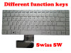 Laptop Keyboard For Teclast F6 PRO YXT-NB93-79 MB2903009 Swiss SW Silver (Different function keys) New and Original