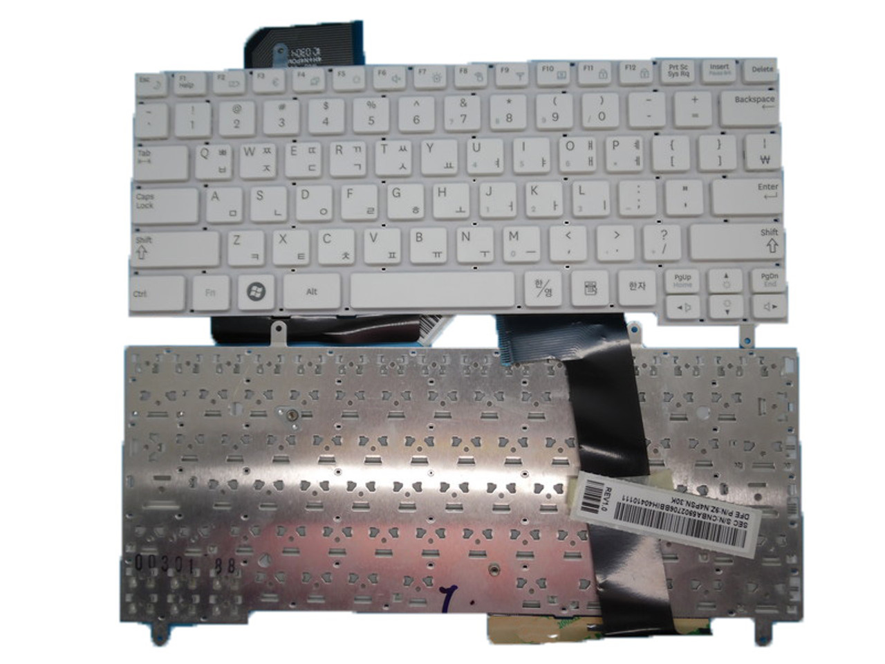 Laptop Keyboard for Samsung N210 N220 Black Russia RU V114060AS V114060AK BA59-02704D 9Z.N4PSN.10R