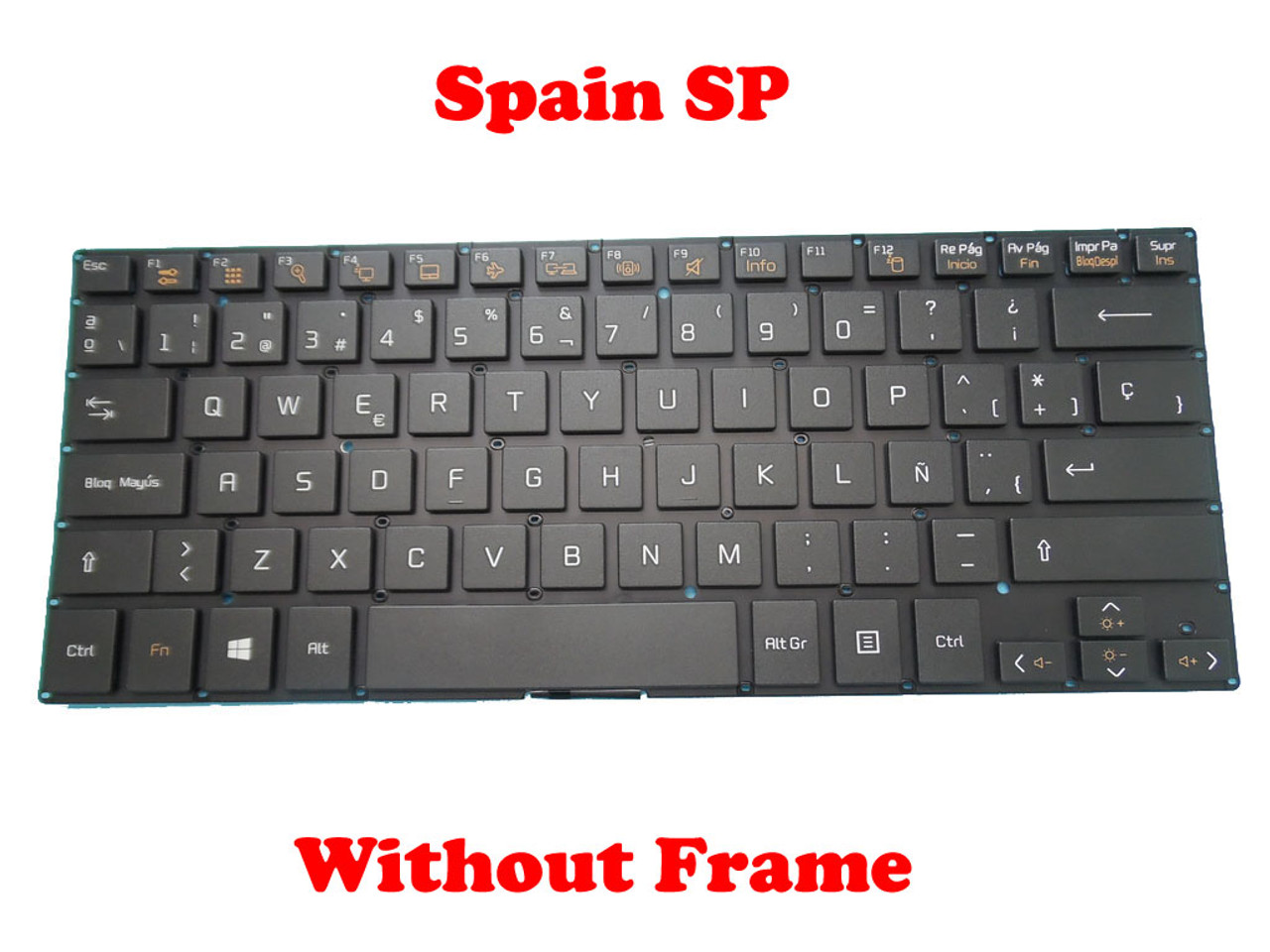 Laptop Keyboard for LG 14U360 14U360-E 14U360-L 14UD360 14UD360-L LG14U36 Black KR Korea
