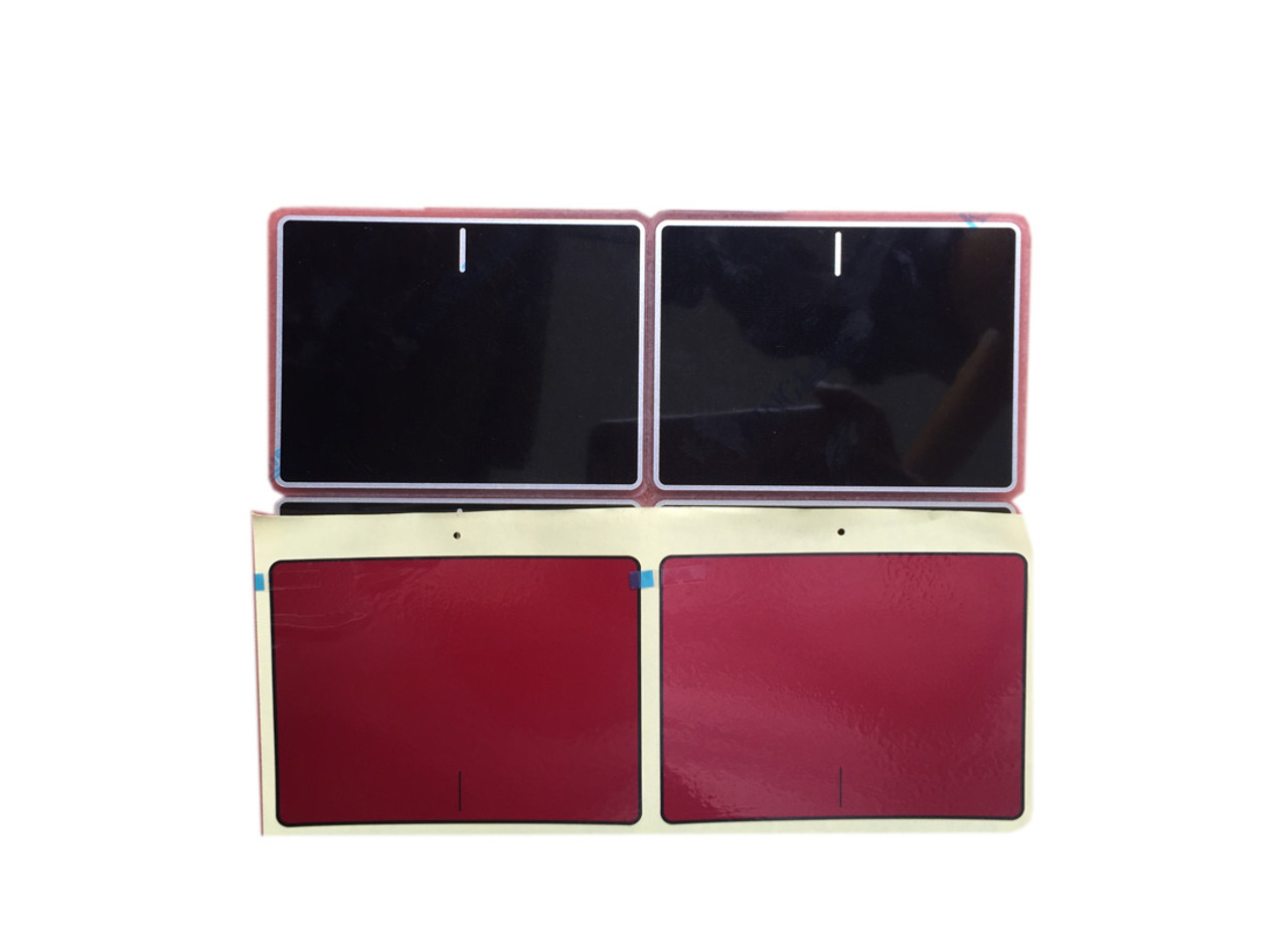 Laptop Touchpad Sticker For DELL Inspiron 15 7557 7559 5577 5576 P57F red  or black