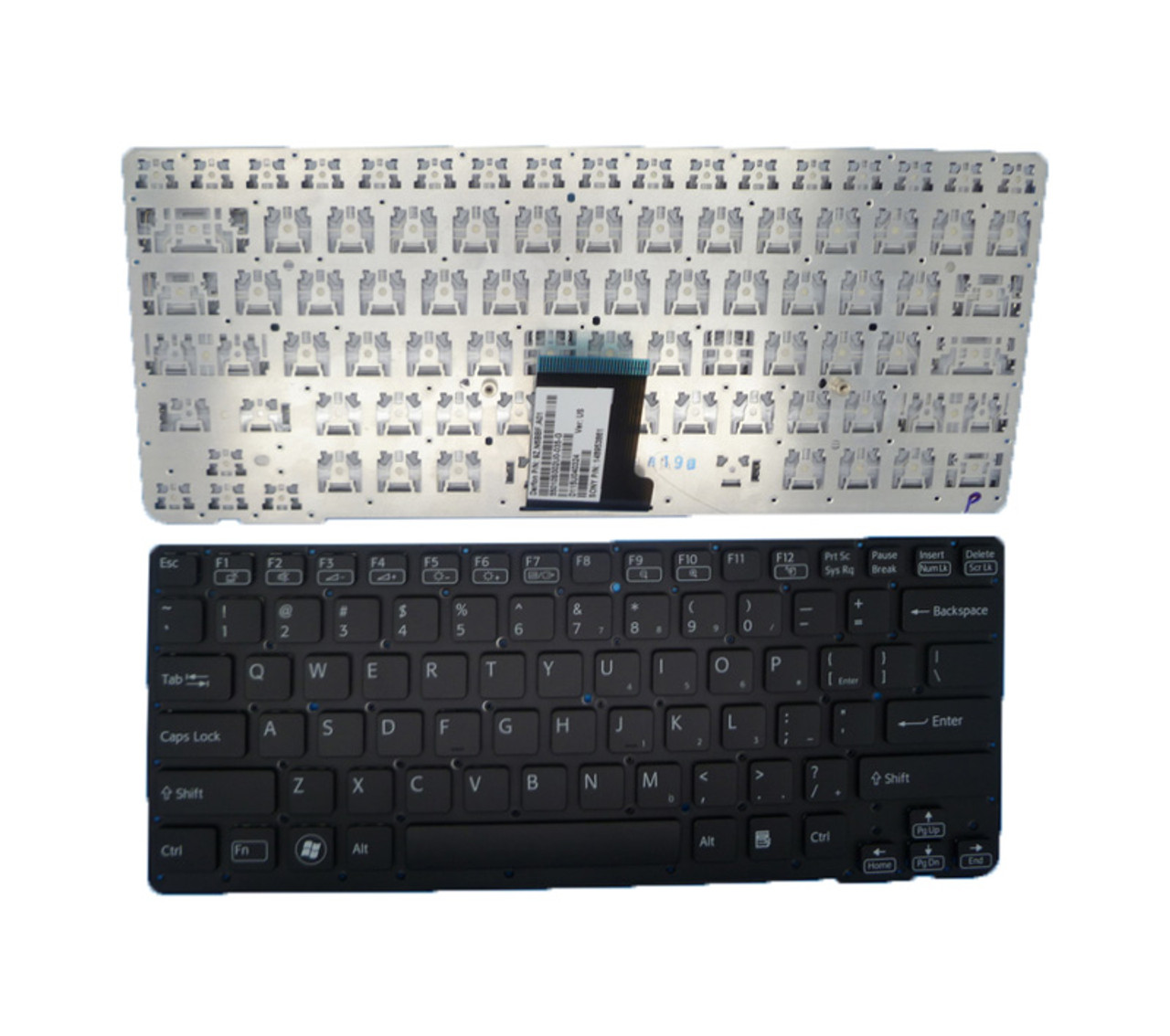 Laptop Keyboard for Sony VAIO VPC-CA VPCCA VPC CA 9Z.N6BBF.A01 148953861 55010S002U0-035-G 9Z.N6BSF.A01 14895211 United States US Black