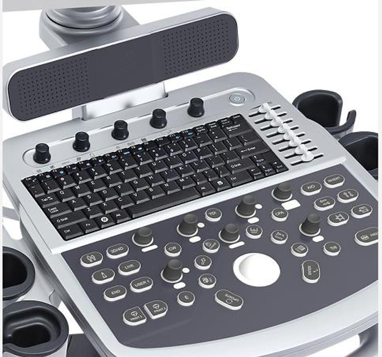 Ultrasound Keyboard for GE Healthcare DOK-V6227H TX-00-US 5442979-REV.3 English US Black New