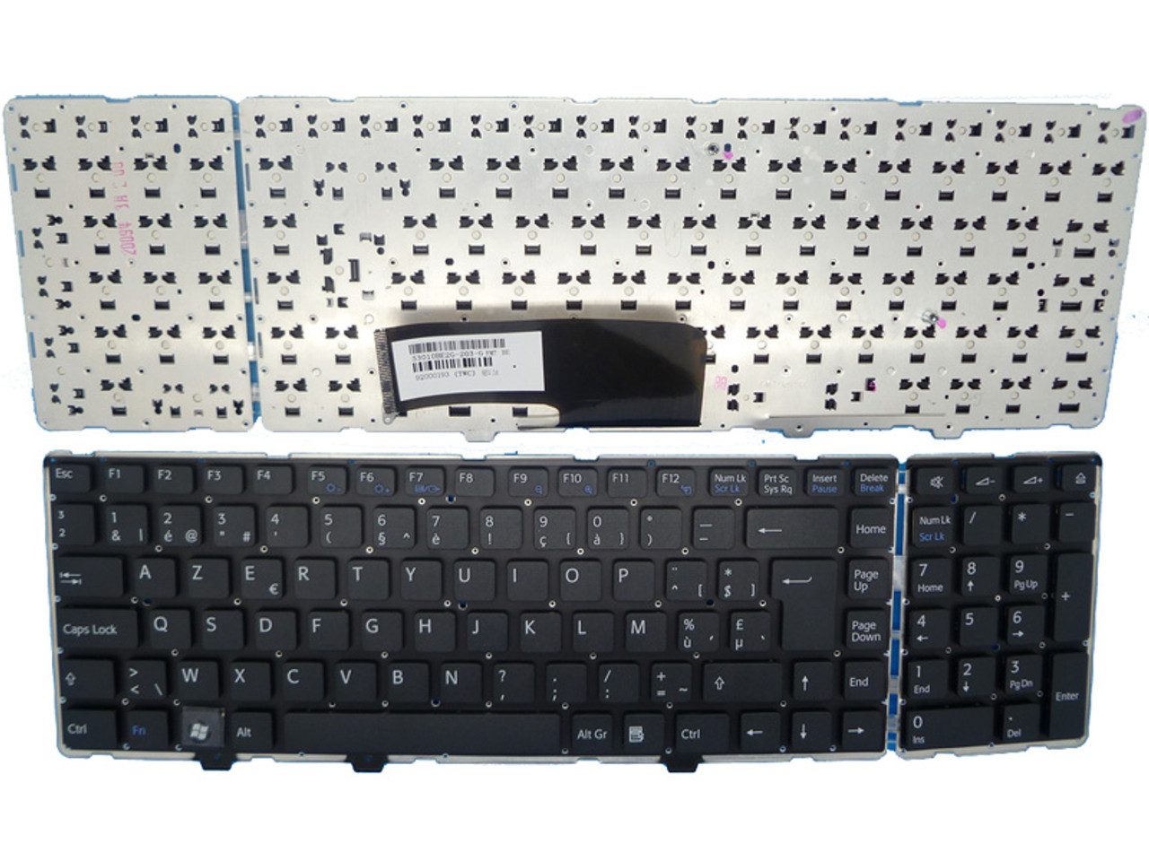 Laptop Keyboard for Sony VAIO VGN-AW VGNAW VGN AW 53010BE2H-203-G Brazilian BR Black Without Frame