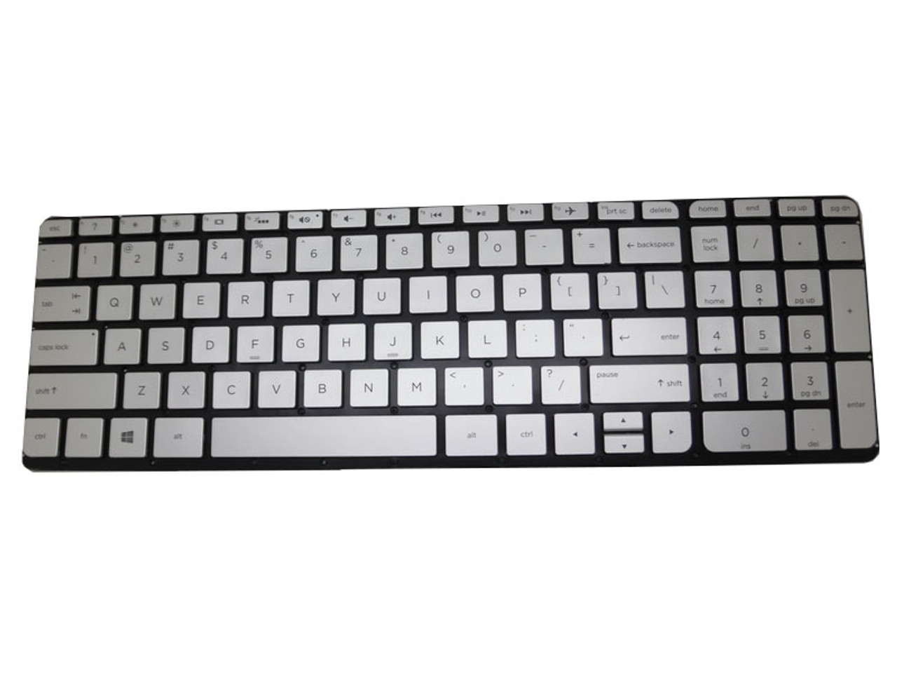 New Backlit US Keyboard For HP Envy x360 15-U010DX 15-U011DX 15-U050CA Silver