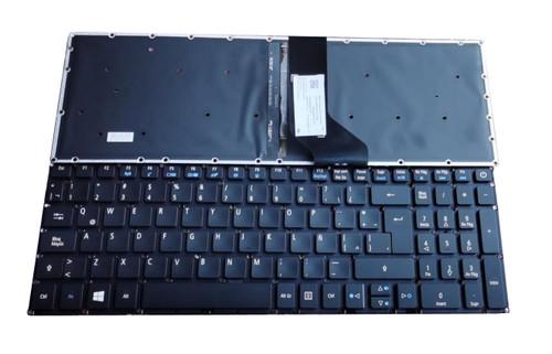 Laptop Backlit Keyboard For ACER E17 E5-722 E5-772 V3-574G E5-573T E5-573 E5-573G E5-573T E5-532G F5-573G E3-573G-571R Canada CA Black New