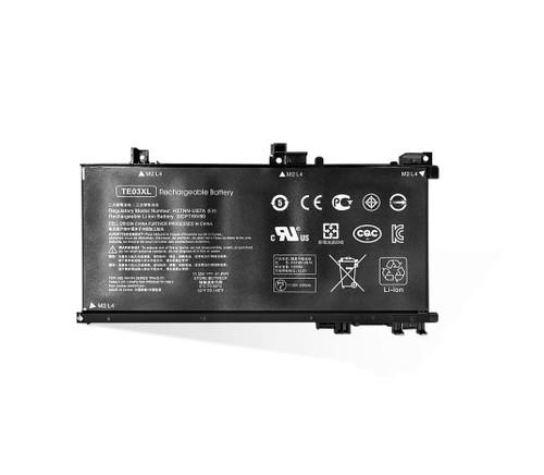 Laptop Battery For 15-AX000 15-AX021TX 15-AX022TX 15-AX023TX 15-AX024TX 15-AX025TX 15-AX026TX 15-AX027TX TE03XL HSTNN-UB7A TPN-Q173 849910-850 5350MAH 11.55V 61.6WH