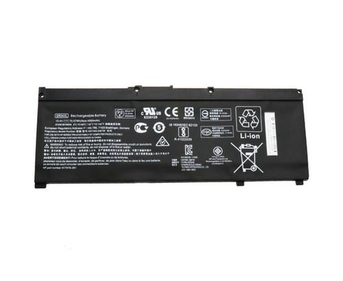 Laptop Battery For 15-CE000 15-CE0XX 15-CE001TX 15-CE001LA 15-CE002TX 15-CE002LA 15-CE003TX 15-CE003LA 15-CE004TX 15-CE004LA 917724-855 917678-171 917678-1B1 SR04XL HSTNN-DB7W/IB7Z/DB8Q 15.4V 70.7WH 4550MAH