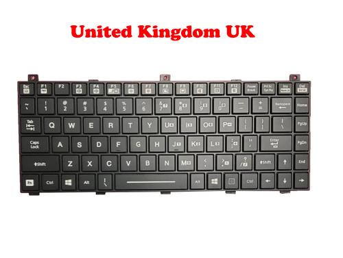 Laptop Backlit Keyboard For Getac B300 G5 United Kingdom UK With Backlit New