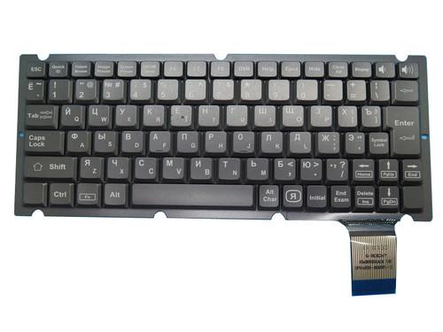 Laptop Keyboard Russia RU HMB3302DVA 20000128 HMB3302SA01 With Translucent Gray New