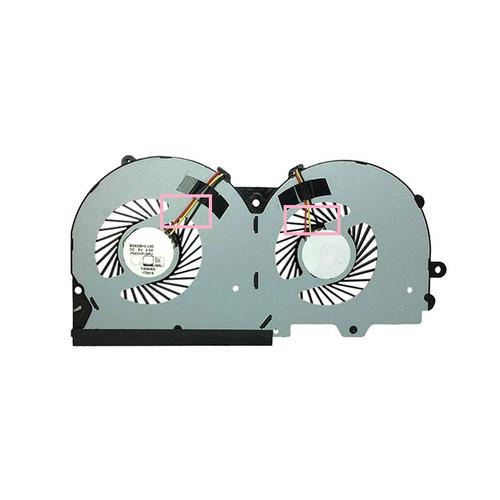 Laptop 3PIN CPU GPU FAN For CLEVO P950EN P950EF P950ER P970EX P950HR P950HP T1000