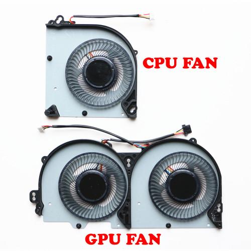 Laptop 4PIN CPU GPU FAN For CLEVO P950EN P950EF P950ER P970EX P950HR P950HP T1000