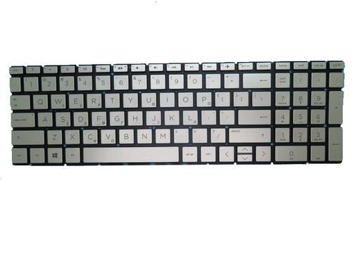 Laptop Keyboard For HP 15-CW000 Without Frame Silver No Backlit Film GreeK GK