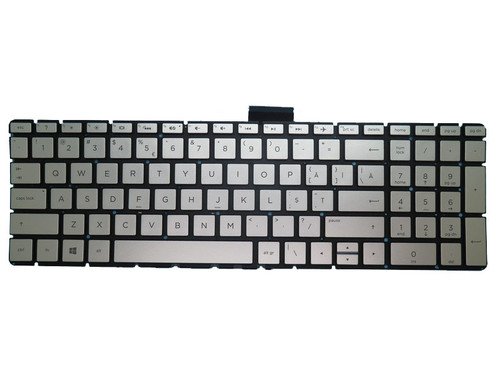 Laptop Keyboard For HP 15-BS000 silver with backlight Without Frame 2B-BB343I600 Romanian RO