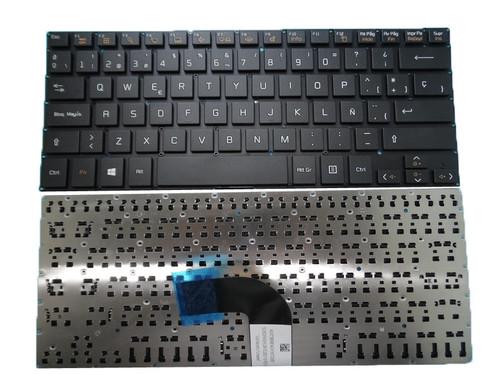 Laptop Black Keyboard For LG 14U390 14U390-E 14U390-F 14U390-M 14UD390 LG14U39 Spanish SP NO Frame